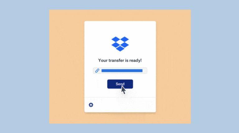 Dropbox Transfer teste le partage direct de fichiers jusqu'à 100 Go