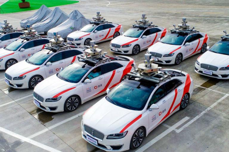 Le Uber Chinois lance une flotte de taxis autonomes