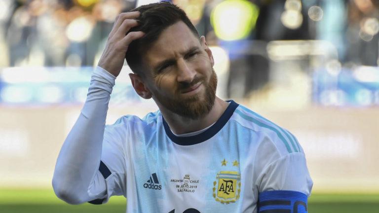 Lionel Messi condamné par l'Argentine à trois mois d'interdiction pour avoir accusé le CONMEBOL de «corruption»