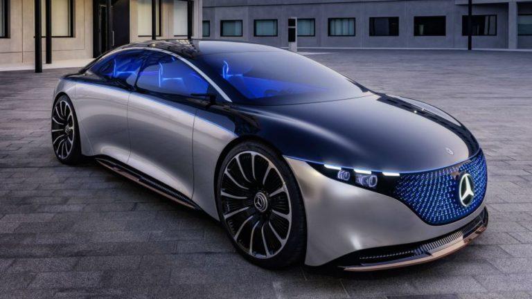 Le concept de voiture électrique Mercedes-Benz comprend une calandre à LED et un «flacon à parfum»