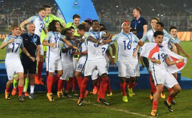 L'histoire de la victoire de l'Angleterre pendant la Coupe du monde des moins de 17 ans