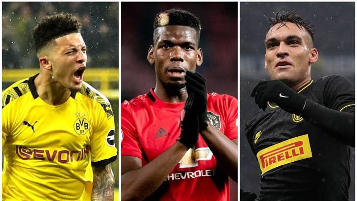 Jadon Sancho, Paul Pogba, Lautaro Martinez et les 40 joueurs qui pourraient être transférés lors du mercato de janvier
