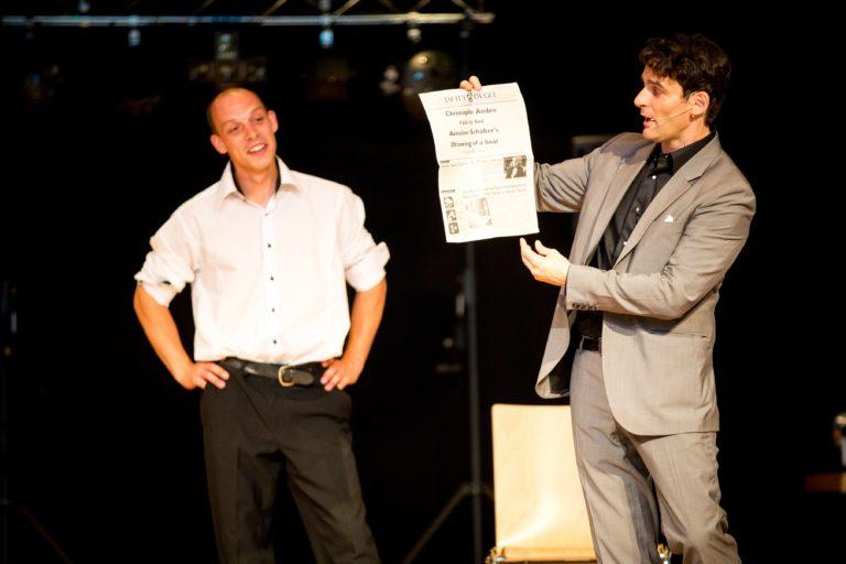 Quels sont les différents types de prestations proposés par Christophe Ambre le magicien Genève ?