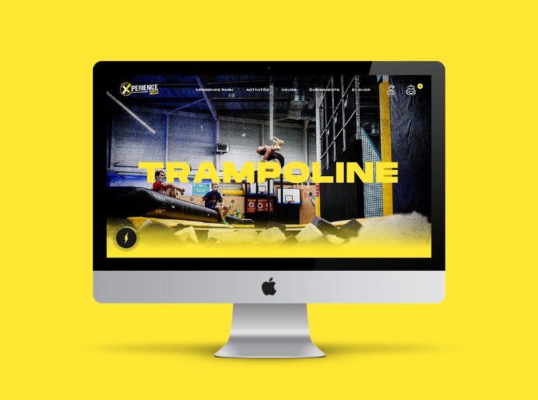 Xperience Park: un nouveau site web pour le parc à trampolines