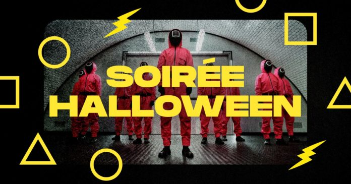 A night of Halloween Squid Game will take place in Mulhouse